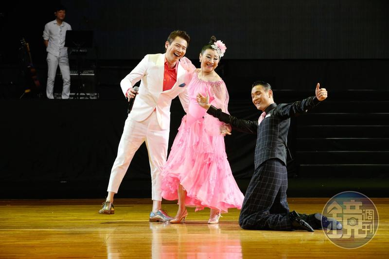 陶喆和母親王復蓉為2018CTC世界國際標準舞公開比賽擔任中場表演嘉賓。