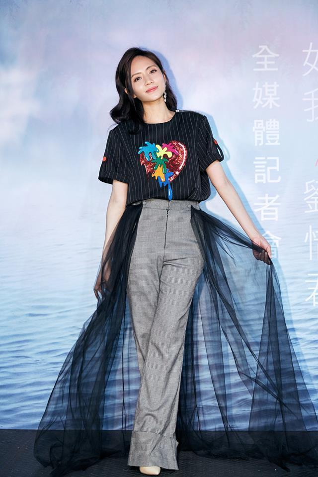 劉惜君覺得台灣粉絲可愛又熱情,未來希望多來台灣跟粉絲見面。(娛樂嘿新聞提供)