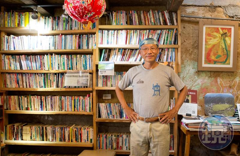 盧文鈞說書店開在偏鄉,是因為自己喜歡鄉下生活,但也期待有孩子能跟他一樣,因閱讀受到啟發。