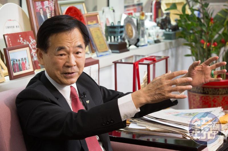 王應傑看中能源轉型商機,設立中佳電力公司,要跨界蓋天然氣發電廠。