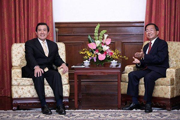 陳水扁(右)和馬英九(左)大刀闊斧改革,後來卻都害到自己。(總統府提供)