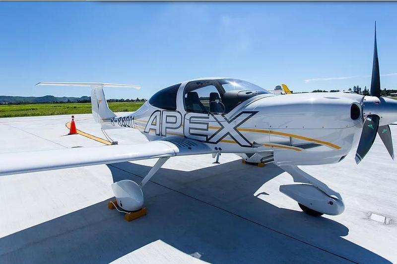 安捷飛航訓練中心訓練機今日於高雄外海迫降。(翻攝自安捷官網)