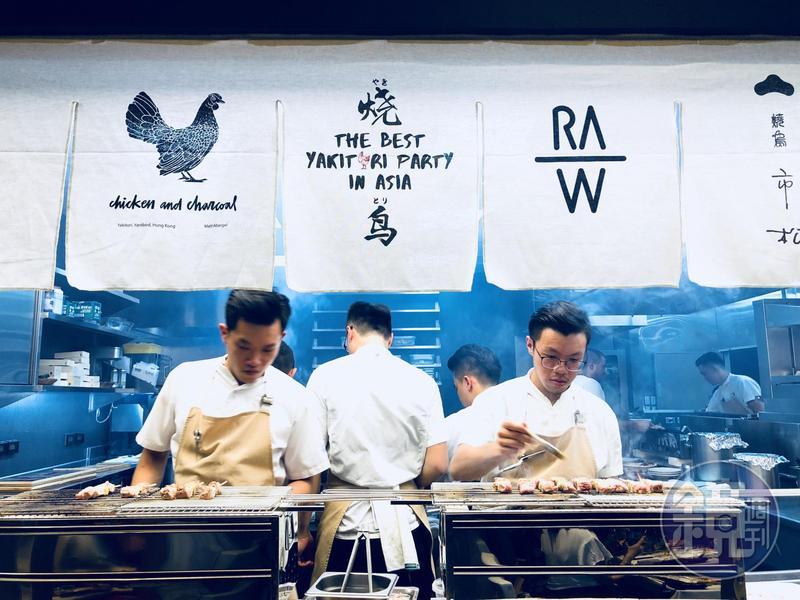 RAW集合亞洲燒烤名店舉辦「亞洲最強燒鳥派對」