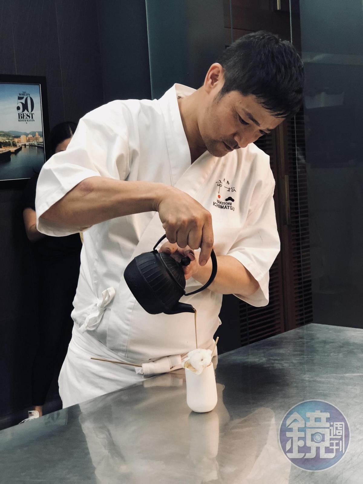 竹田英人主張燒鳥也可以是高級料理。