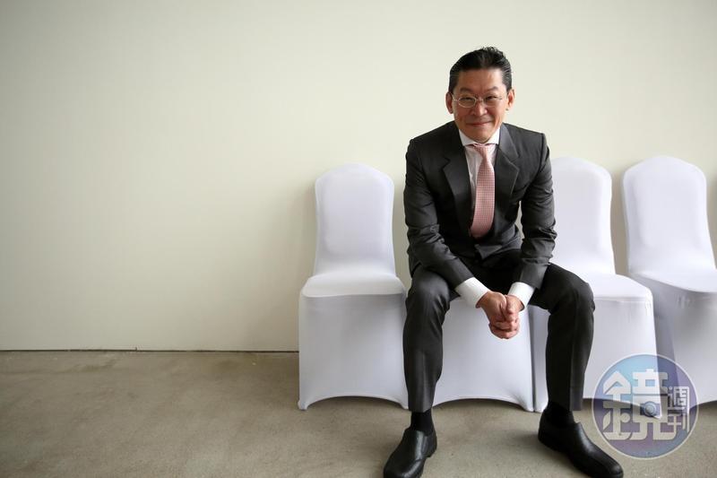 宏泰集團新掌門人林鴻南(圖)找外資金童郭冠群操盤,組成本土團隊,擊敗大豐有線成功搶親中嘉網路。