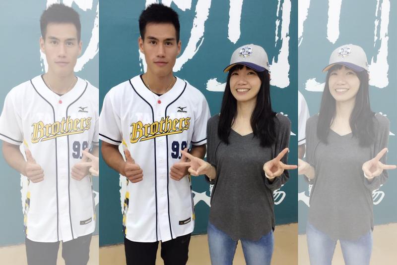 楊俊瀚(左)和張旖旂從世大運之後感情急速增溫,張旖旂臉書也貼出兩人合照。 (翻攝自張旖旂臉書粉絲專頁)