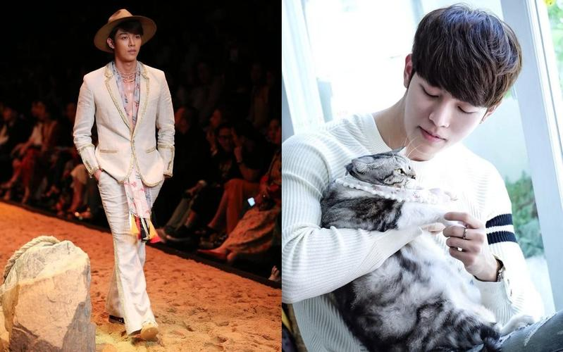 泰星Gxxod擁有190公分標準名模身材,私下是愛貓暖男。(合成自Gxxod IG)