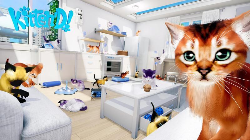 VR 養貓模擬器遊戲(圖片來源:官網)