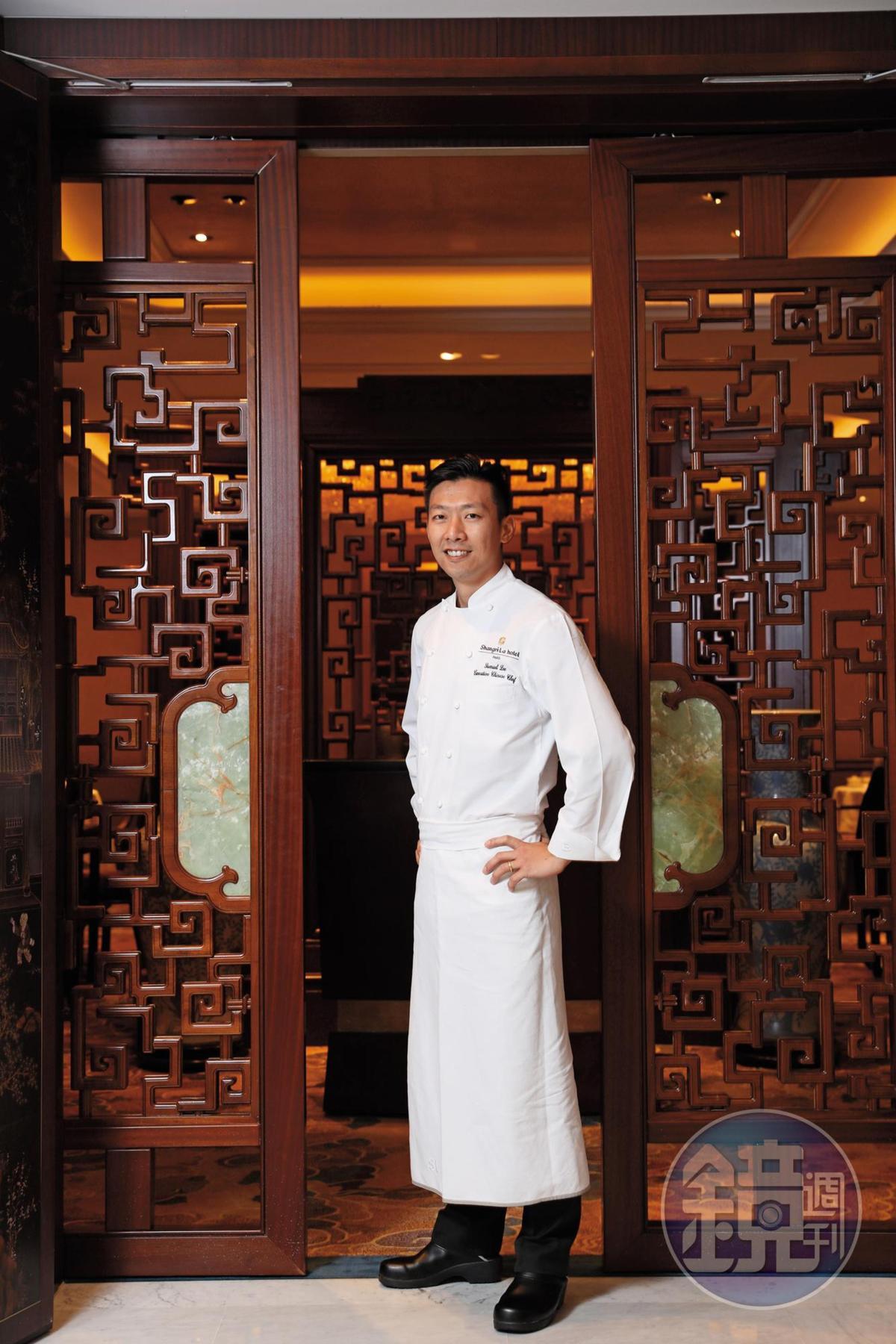 香港出生的李森,2014年來到法國,率領「巴黎香宮」持續拿下米其林一星,是巴黎一星名單中唯一的中餐廳。