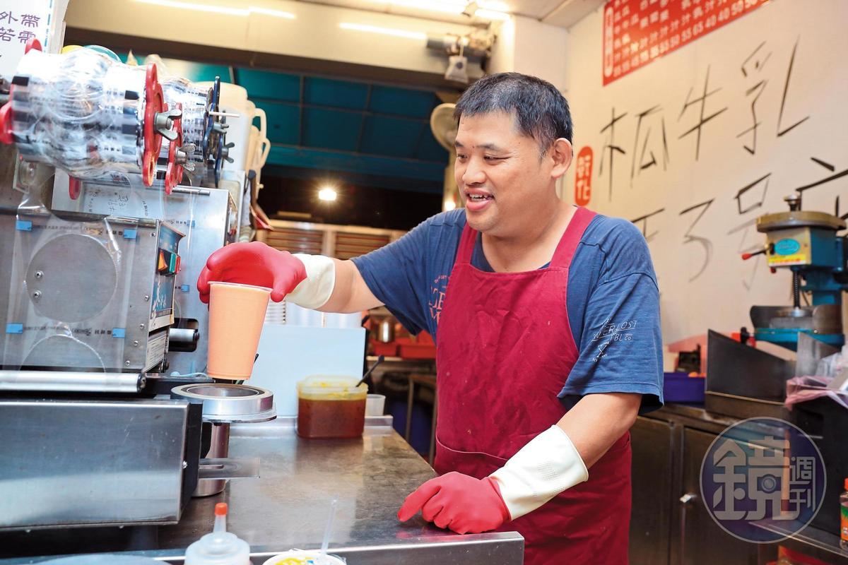 盧家老三盧信昌的3號店靠近和美,開拓新客源。