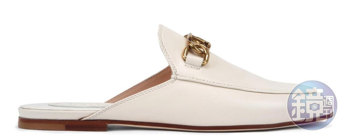 TOD'S金屬釦環穆勒鞋,NT$22,300。