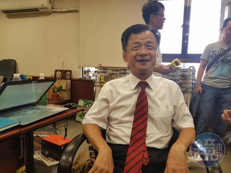 行政院內閣改組,傳出原任法務部長邱太三改接總統府副秘書長,邱太三表示還沒點頭同意。
