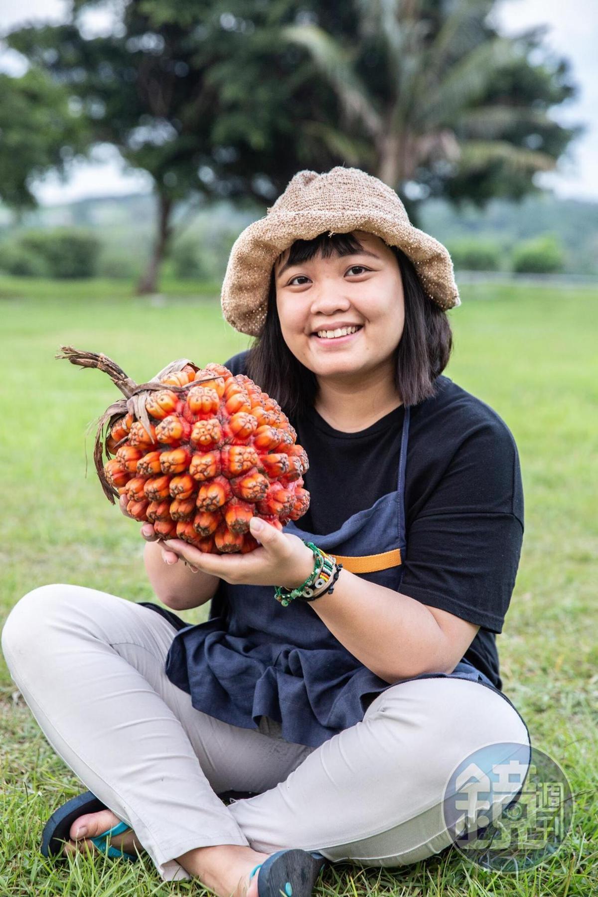 基隆女孩高韻涵,跟著男友江志傑居住在蘭嶼,打造出特殊的蘭嶼料理。