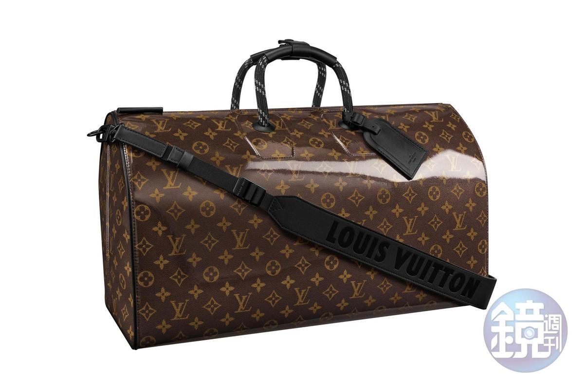 快閃店獨賣商品:LV Monogram Glaze Keepall手袋,NT$110,000。