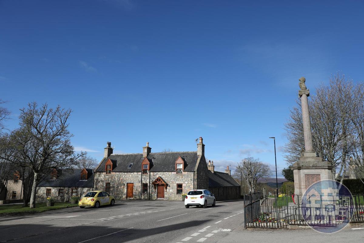 Archiestown是個很有歷史的小鎮,但人煙稀少。