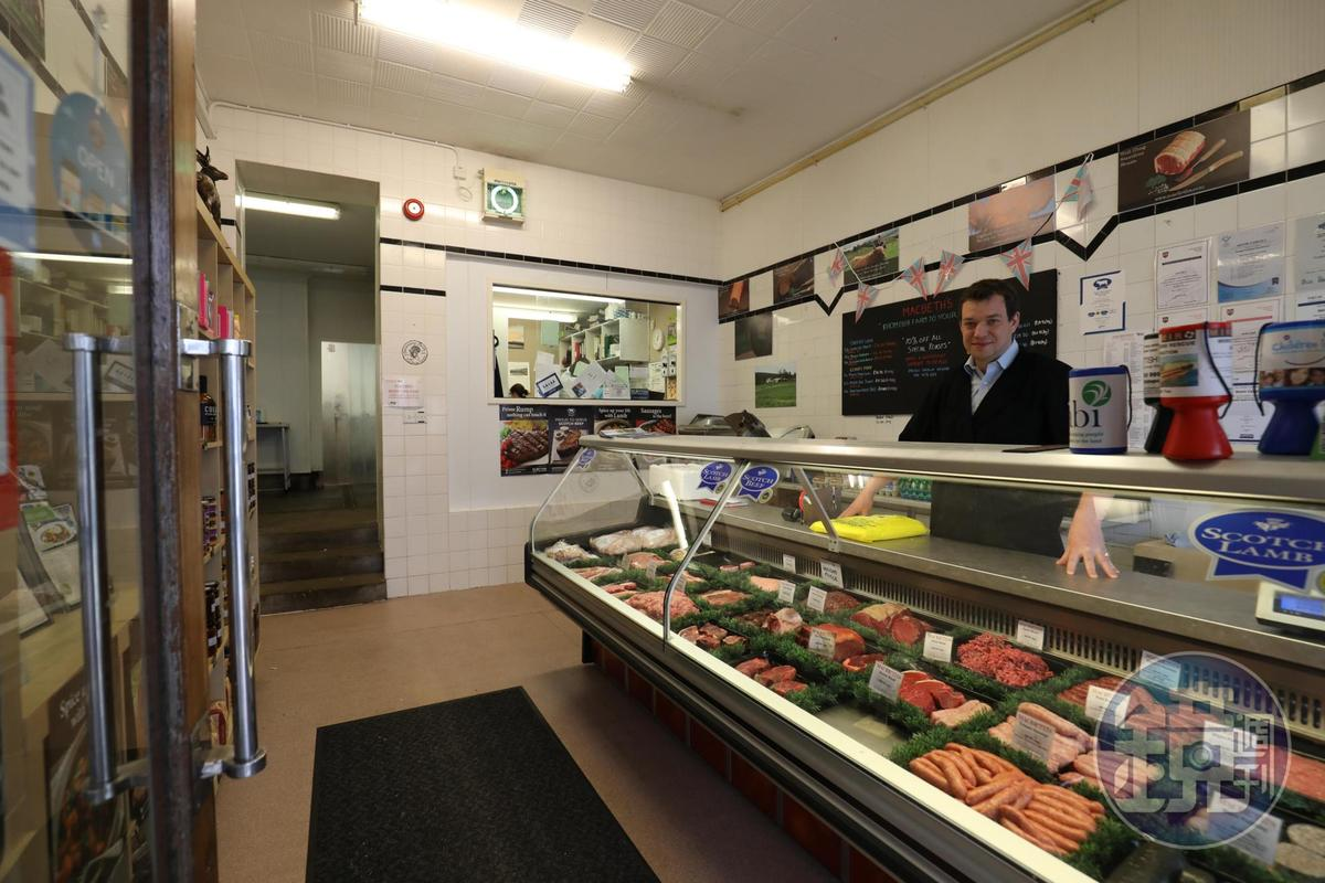 「Macbeth's Tradition Scottish Butchery & Game Dealers」的實體店面不大,但網上生意做得蠻大。