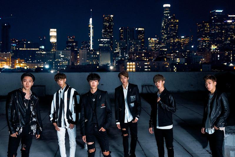 男團C.T.O前往美國拍攝第二波主打歌〈Insomnia〉MV,是新人中難得的大手筆。(環球音樂提供)