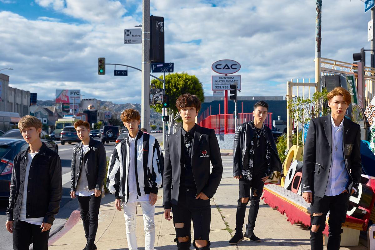 MV特別在LA封街拍攝,C.T.O成員各自有不同劇情表現。(環球音樂提供)