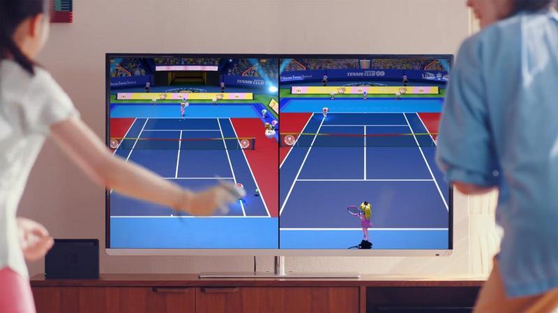 《瑪利歐網球》日本銷售佳,台灣代理商趁著暑假,也將舉行體驗活動。(翻攝自Youtube)