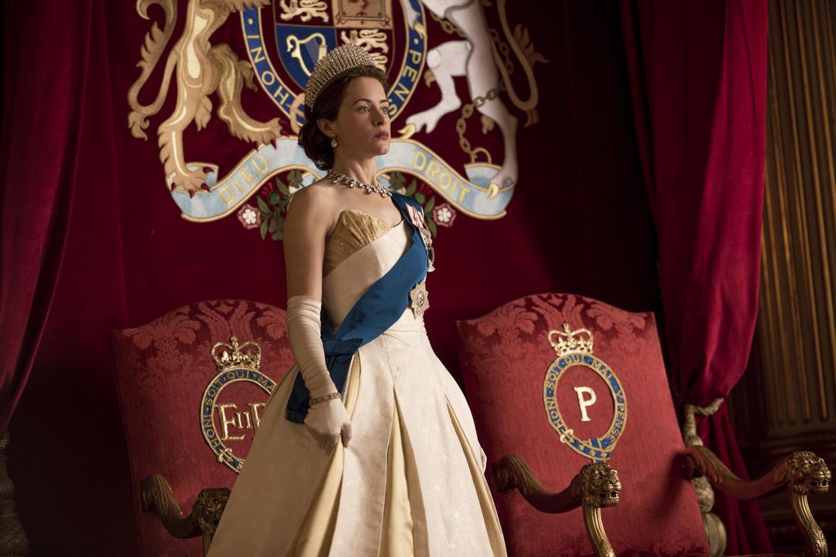 《王冠》入圍了13項,是Netflix所有入圍節目當中之冠。(Netflix提供)