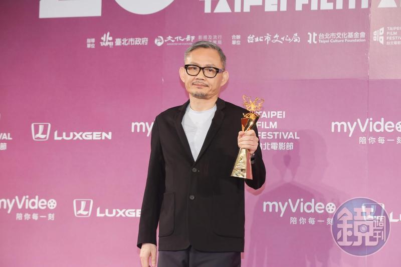 陳國富表示獲得卓越貢獻獎會刺激他做的還不夠。