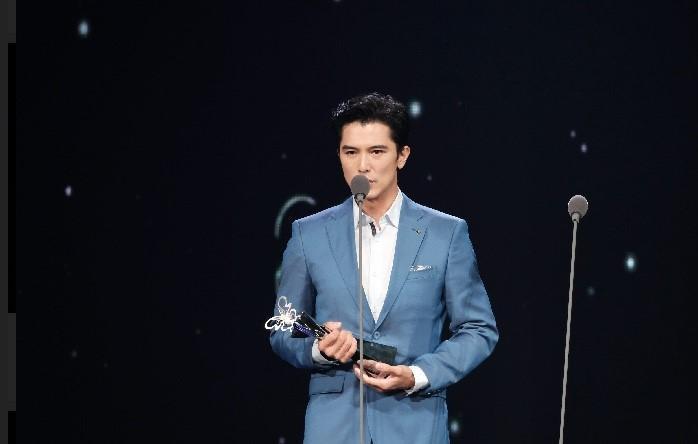 邱澤獲得最佳男主角獎感觸良多。(台視提供)