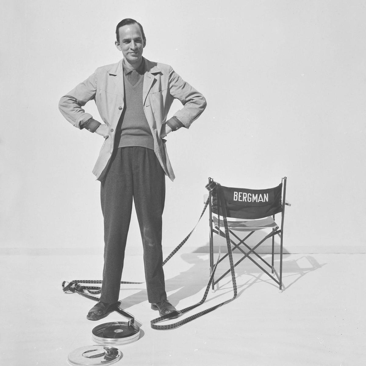 今年坎城影展首映的紀錄片《柏格曼:大師狂想》(Bergman:A Year in a Life),呈現這位電影巨擘在鏡頭之後的真實樣貌。(佳映娛樂)