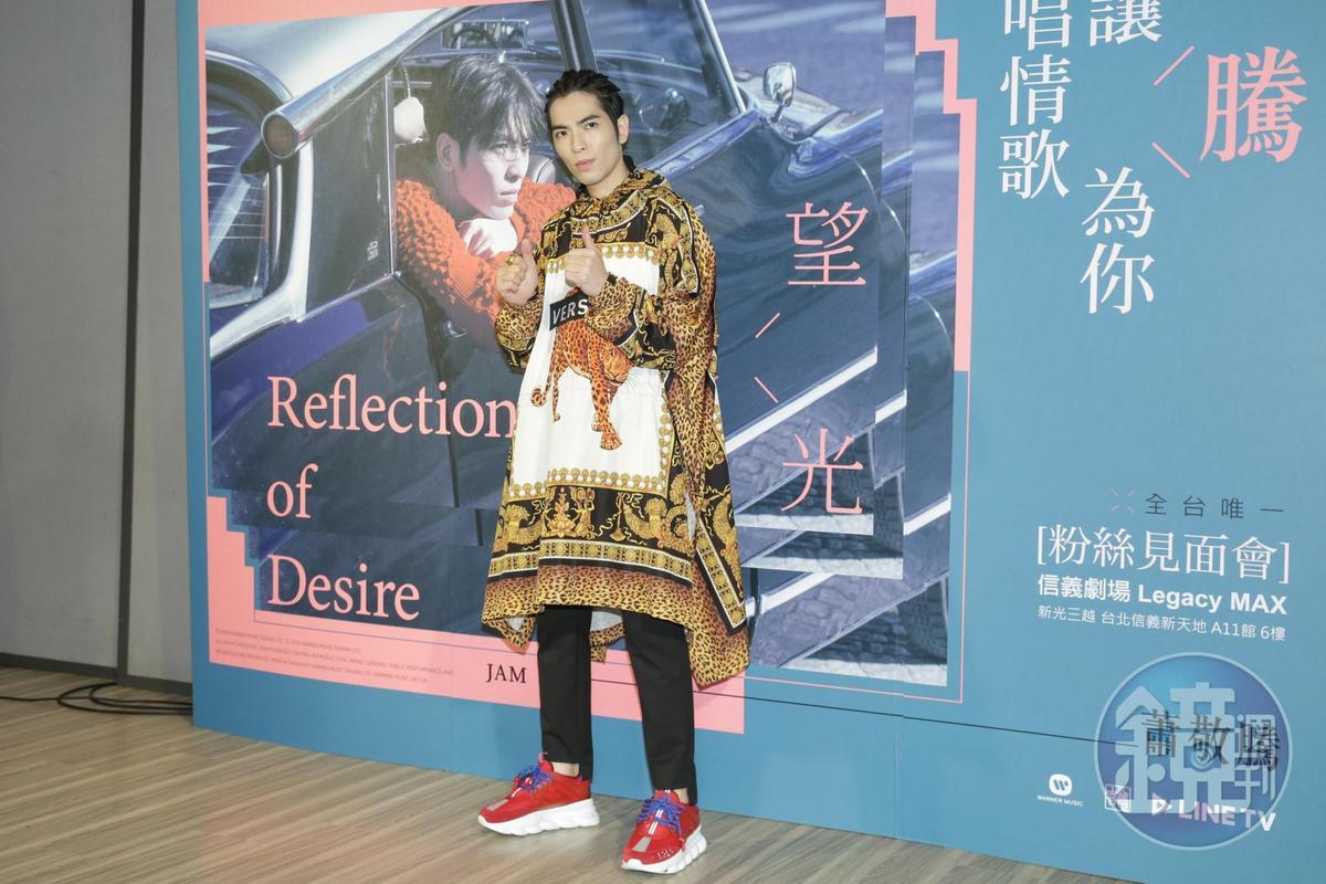 蕭敬騰說目前身體狀況很好,也有定期做健康檢查,他會好好照顧身體。