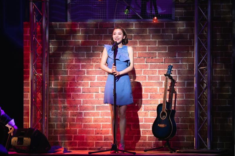 丁噹在音樂劇《搭錯車》中的真情演出,讓觀眾讚不絕口。(相信音樂提供)