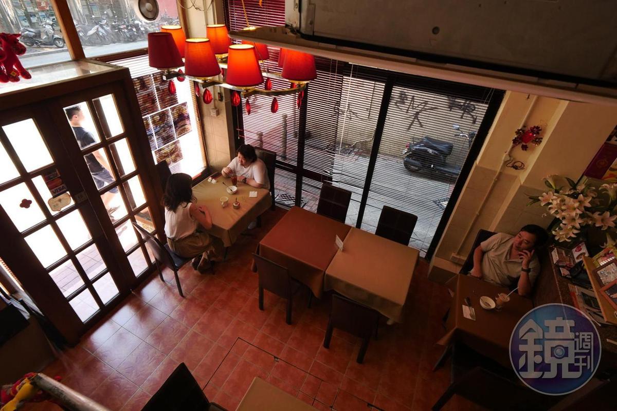 雅麗娜葡式茶餐廳」的空間雖然不大,卻很有在別人家作客的溫馨感受。