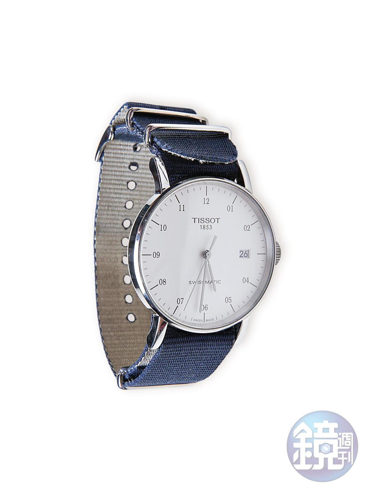 TISSOT腕錶。約NT$15,000