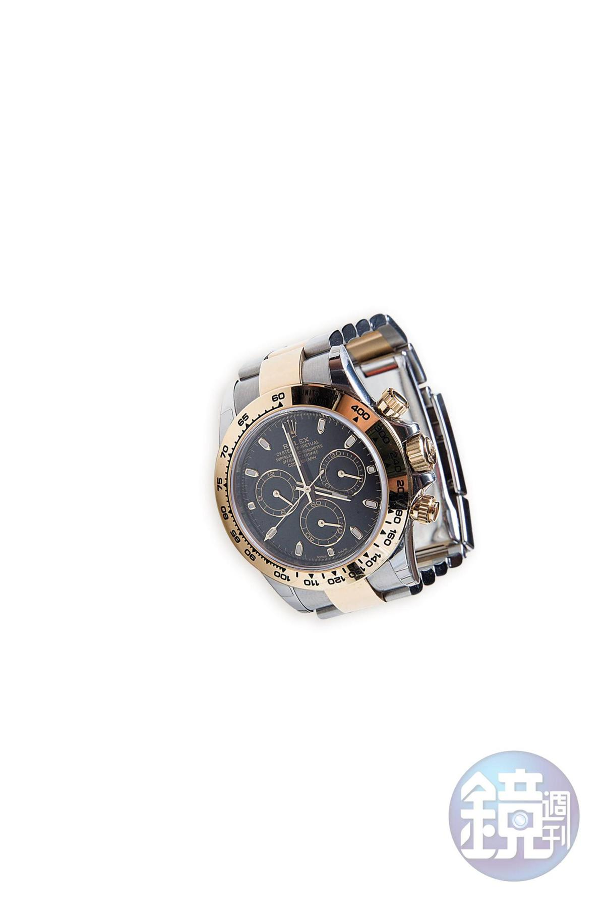 ROLEX手錶是今年的畢業禮物。約NT$520,000