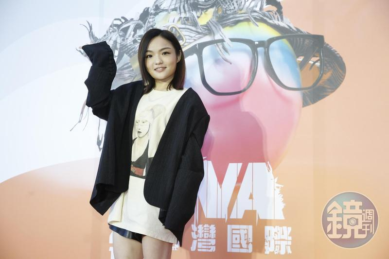 金曲歌后徐佳瑩出任第5屆「台灣國際酷兒影展」影展大使,也承諾影展期間會低調去看片。