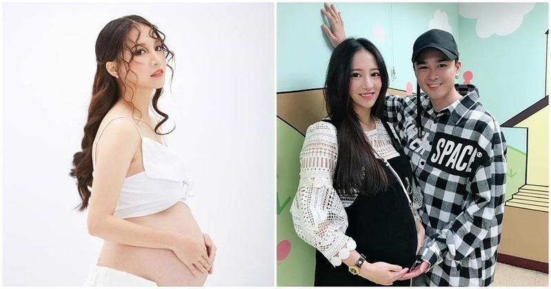 林采緹昨(17)日產子,但臨盆前遇上老公胡睿兒偷吃醜聞。(翻攝自林采緹臉書)