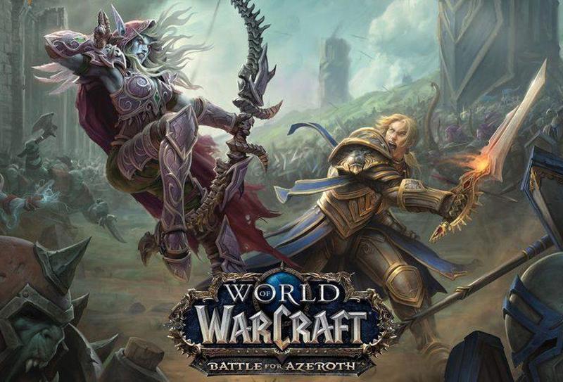 《魔獸世界》最新更新版本「決戰艾澤拉斯」引發玩家大量撻伐。(圖片來源:官網宣傳海報)
