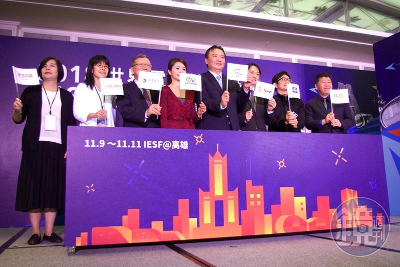 IESF世界電競錦標賽今日舉行售票記者會,預計明日正式開賣。