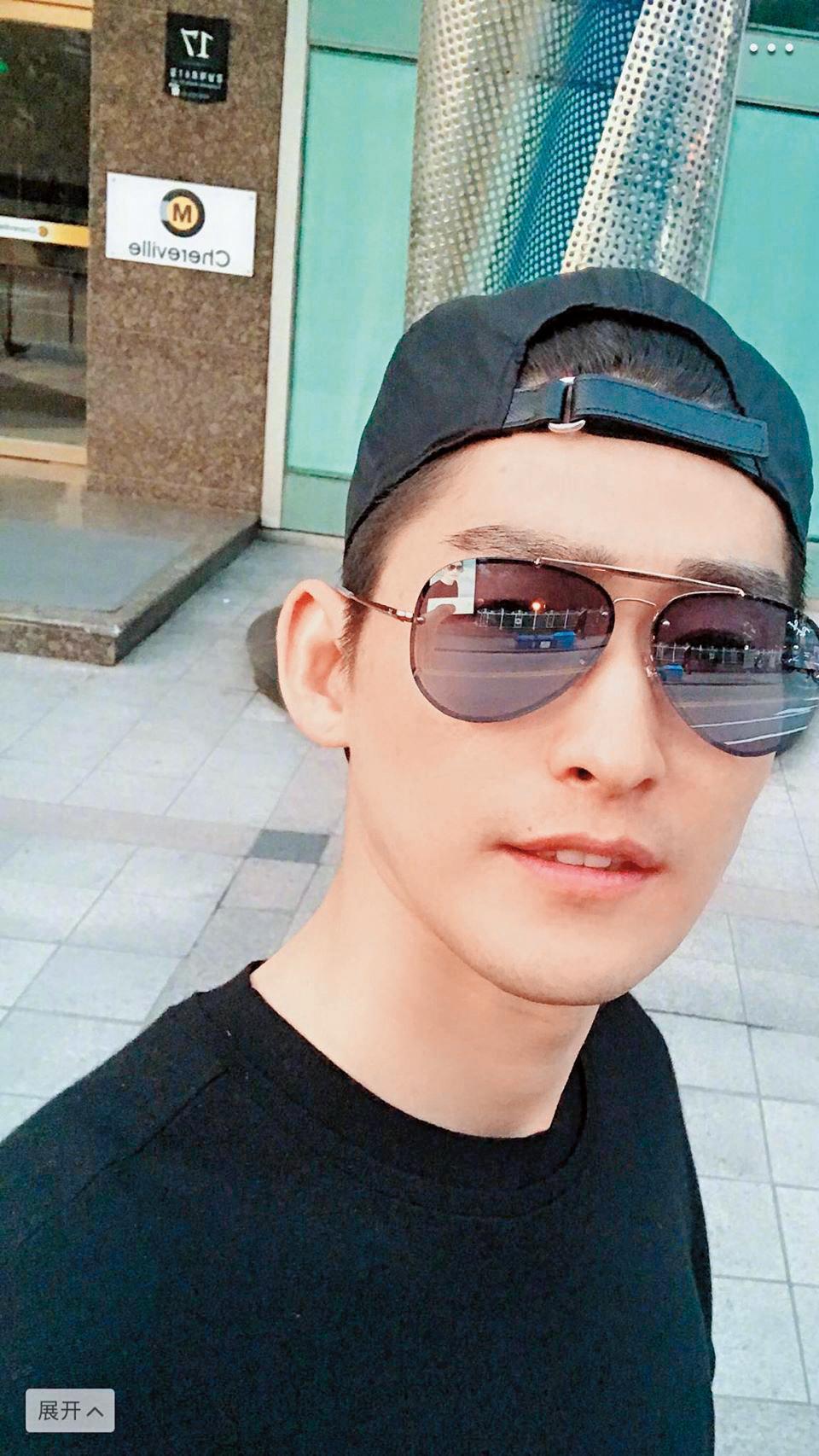 根據粉絲提供的照片,張翰在首爾入住的是君悅飯店。