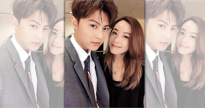 王子日前鬆口認愛大5歲的香港歌手鄧麗欣,2人如今打得火熱,王子更趁工作空檔飛到香港會女友。(翻攝自王子粉專)