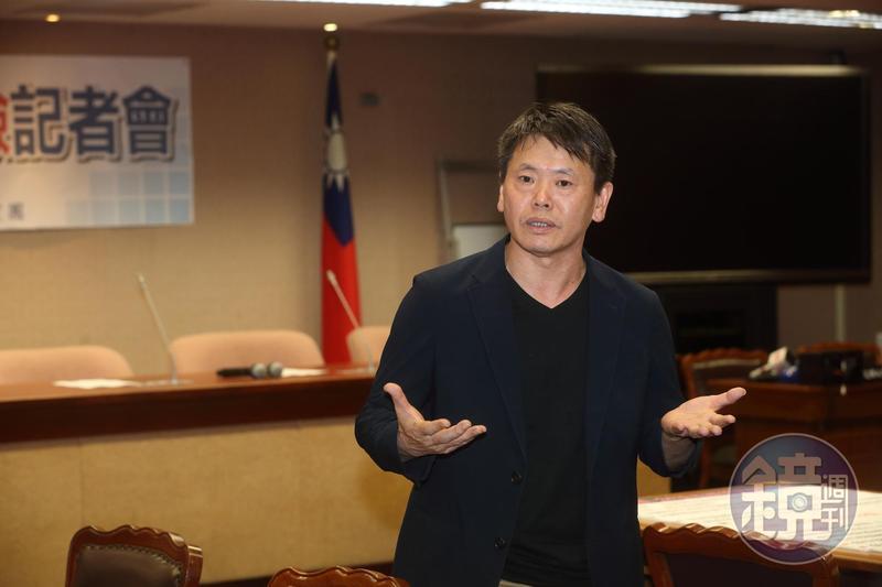 林為洲說,這段期間與國民黨溝通並不順利。
