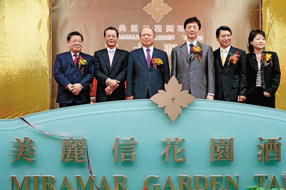 德安集團從百貨、航空、鋼鐵、地產業跨足觀光旅遊,在台北市中心成立美麗信花園酒店搶客。(今周刊)