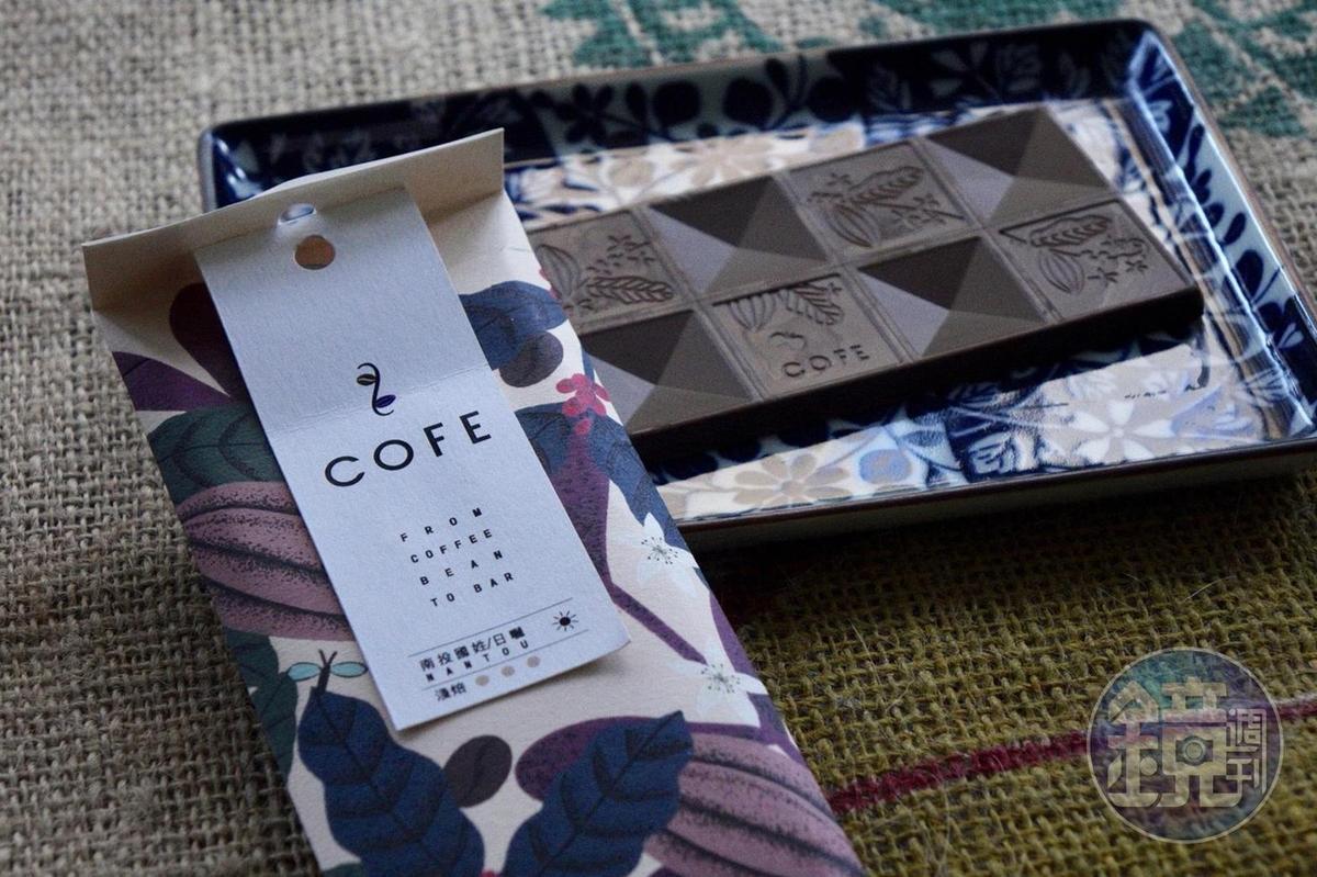 淺焙的「南投國姓向陽咖啡莊園的日曬咖啡」個性明亮,有熱帶水果酸味。