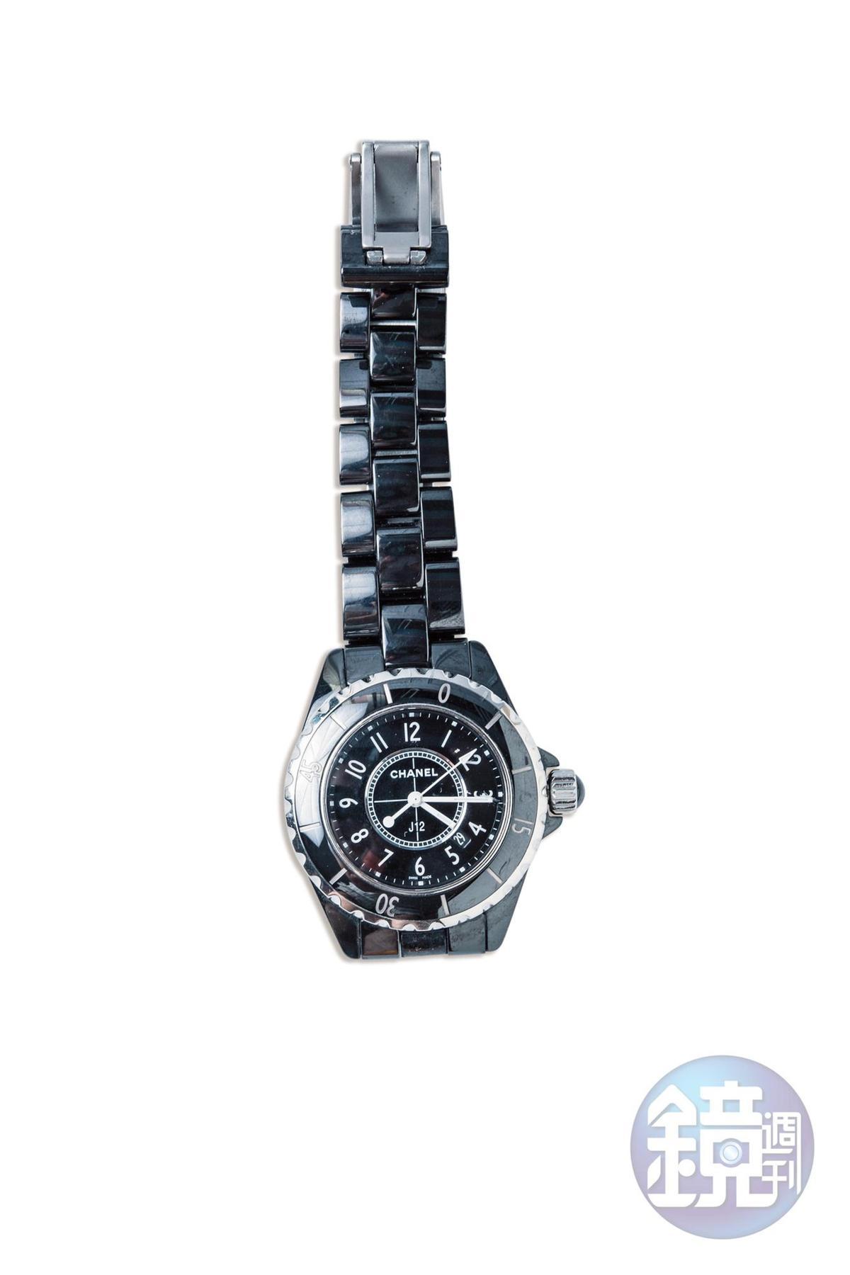 CHANEL J12手錶。老公送的25歲生日禮物