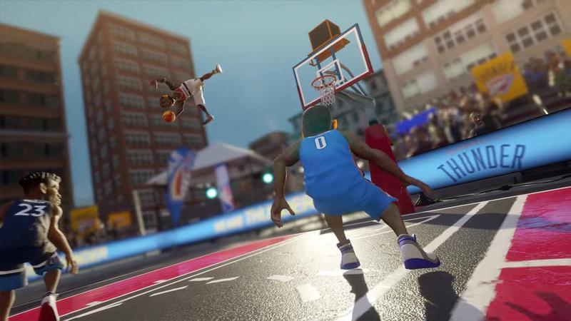 《NBA Playgrounds》第二代將交由運動遊戲大廠2K Games發行,並更名為《NBA 2K Playgrounds 2》(翻攝自Youtube)