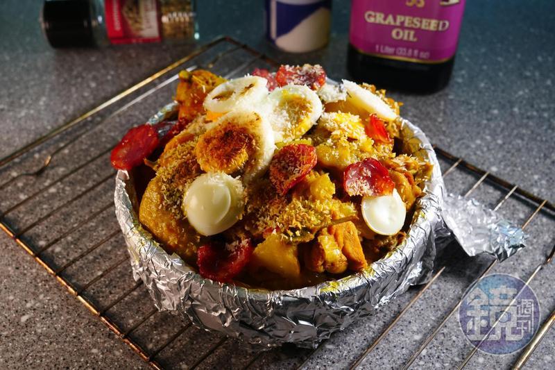 「葡國雞」的風味極為豐富與有層次,每種微小的香料與調味皆缺一不可。