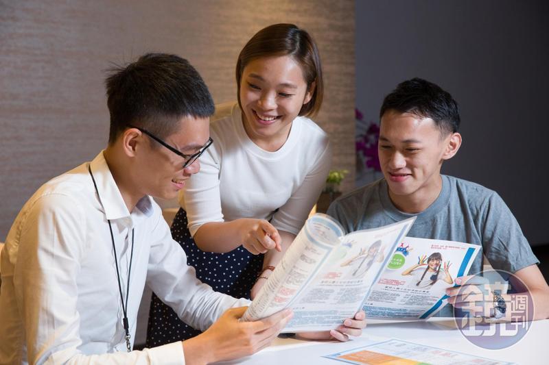 零件式保單具低保費、高保障的特色,吸引許多年輕人將其列為首購保單。