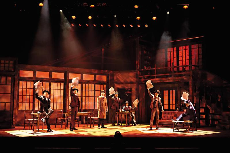 《光的來信》以1930年代日治時期的朝鮮為背景,藉由文人窺看時代流轉、人心轉折。(台中國家歌劇院提供)