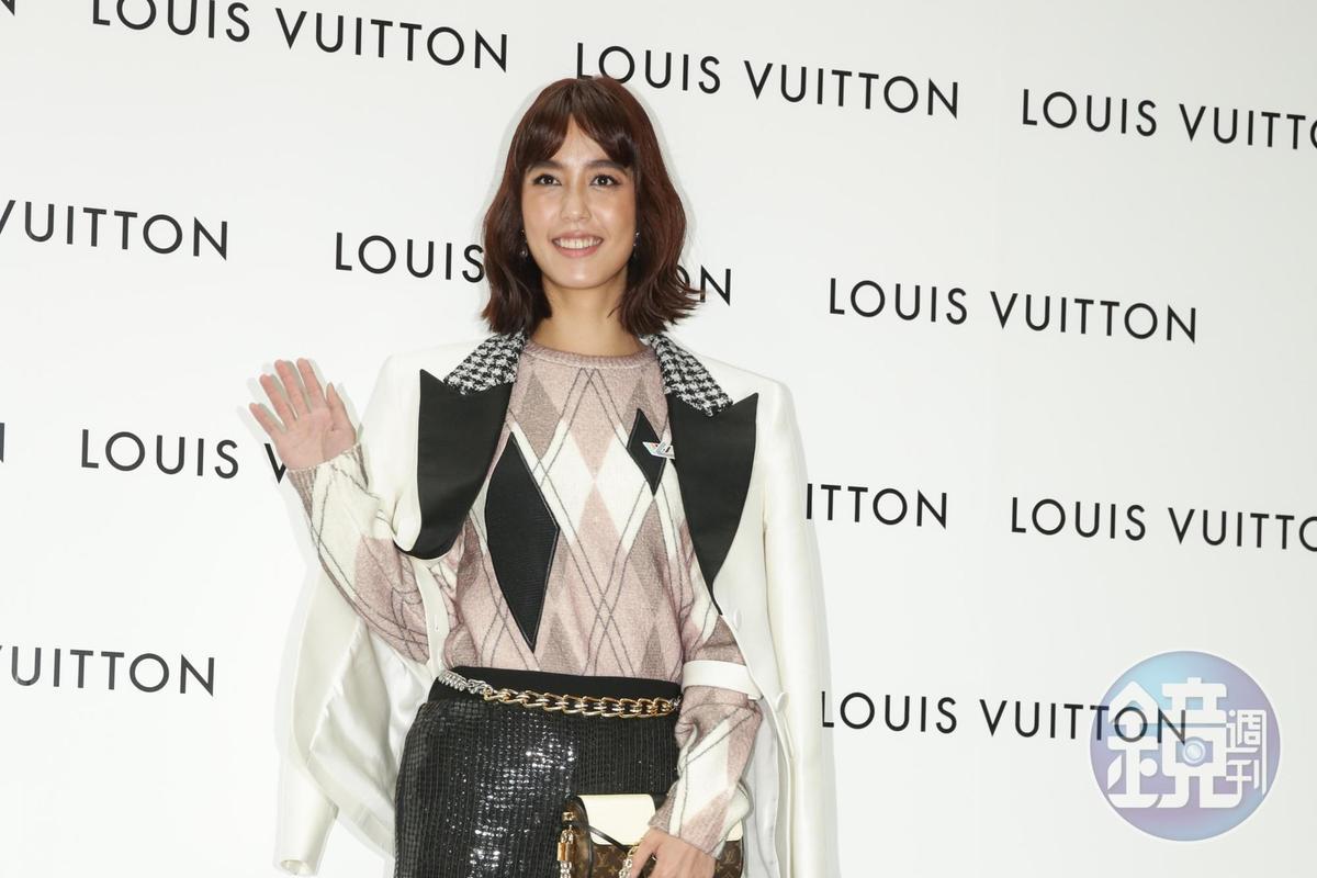 陳庭妮在花蓮已經拍了一個月的戲,遠離塵囂保養的相當好,重回五光十色時尚圈也不覺得陌生。