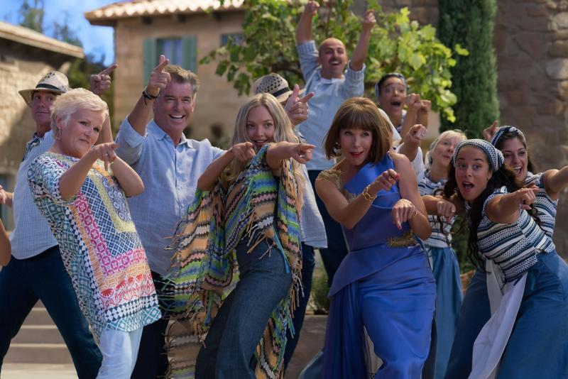 《媽媽咪呀!回來了!》號召第一集的主要卡司全部回歸,繼續帶來更多歌舞。(UIP提供)