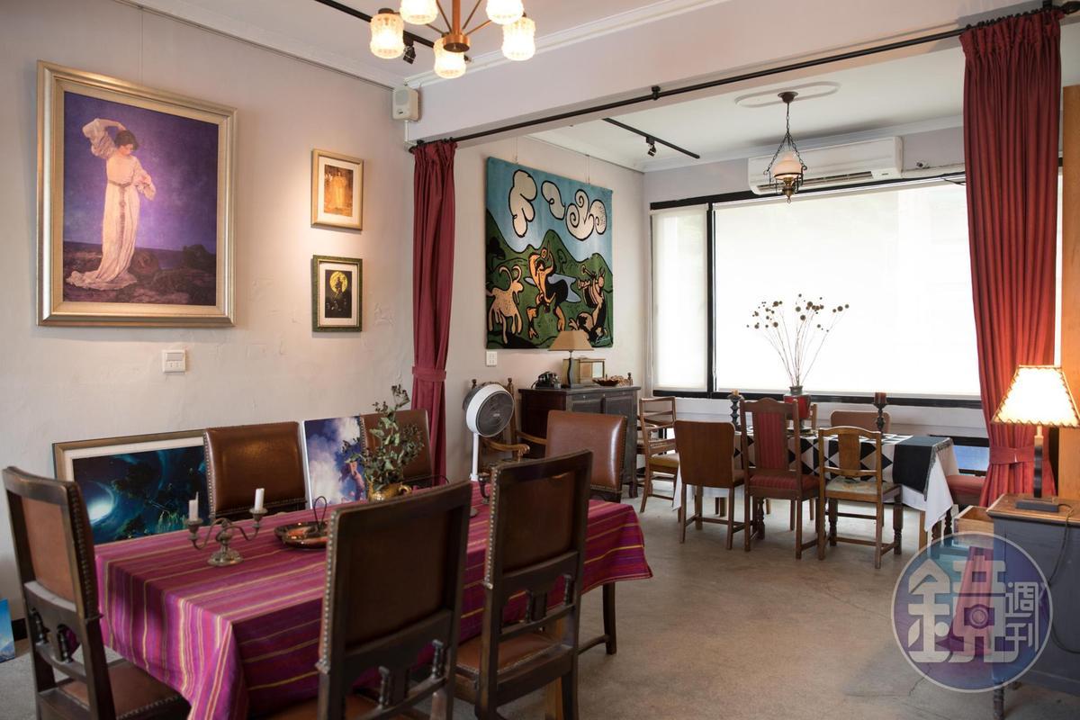 「CASA PICASSO」二樓用餐空間十分寬敞,適合多人包場。