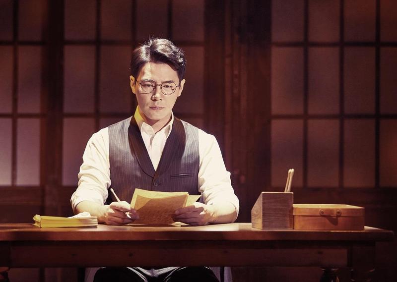 找來近期知名度大增的李奎炯挑大梁主演,讓音樂劇《光的來信》在台灣公演頗受矚目。(台中國家歌劇院提供)